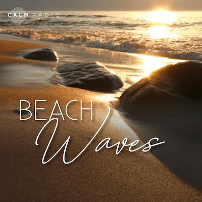 Calm Radio strand golven witte ruis online natuurgeluiden kanaal