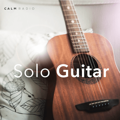 Stream free relaxing calming Solo Guitar music online for work study and sleep from Calm Radio