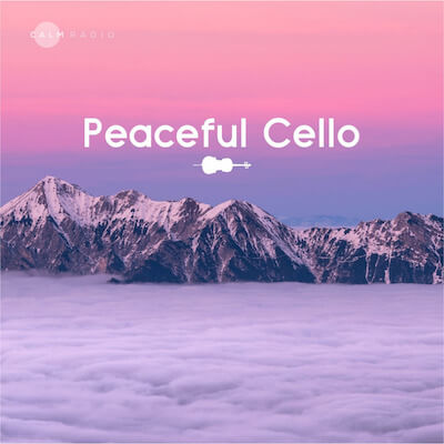 Calm free calming peaceful cello relaxing music online at CalmRadio.com