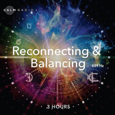 Ruhige, kostenlose Online-Meditationsmusik mit heilenden Solfeggio Frequenzen 639 Hertz für Meditation und Heilung.