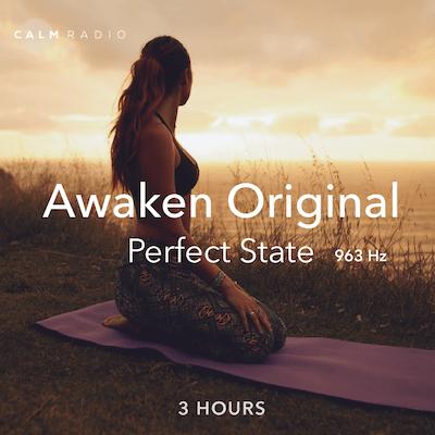 Musique de méditation en ligne calme et gratuite avec des fréquences de Solfège de 963 hertz pour la méditation et la guérison.