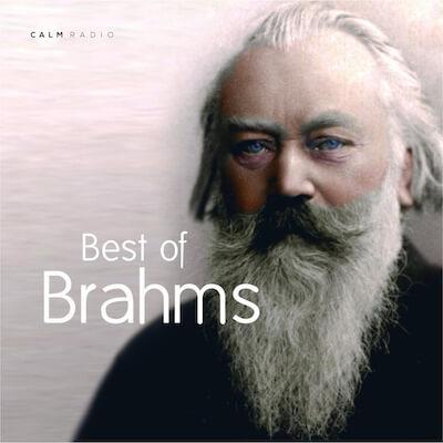 Kalm gratis kalmerende muziek online Brahms voor meditatie, ontspanning en werk.